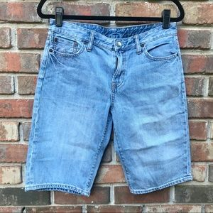 [Polo Ralph Lauren] Light Wash Cotton Jean Shorts